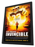 Invincible 27 x 40 Movie Poster - Style A - in Deluxe Wood Frame