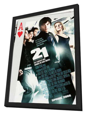 21 27 x 40 Movie Poster - Style A - in Deluxe Wood Frame