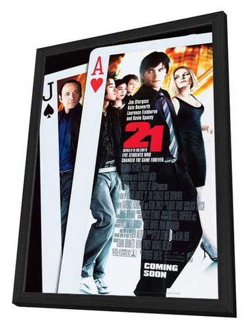 21 27 x 40 Movie Poster - Style B - in Deluxe Wood Frame