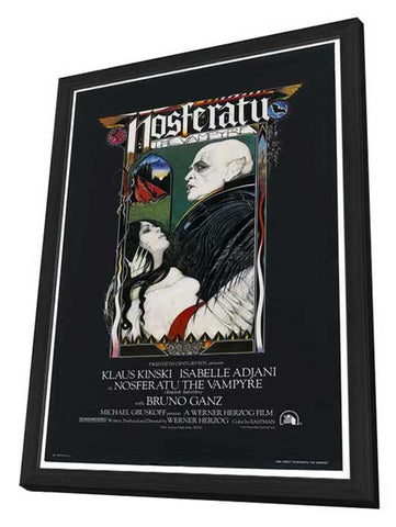 Nosferatu the Vampyre 27 x 40 Movie Poster - Style B - in Deluxe Wood Frame