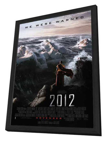 2012 27 x 40 Movie Poster - Style B - in Deluxe Wood Frame