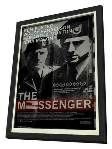 The Messenger 27 x 40 Movie Poster - Style A - in Deluxe Wood Frame