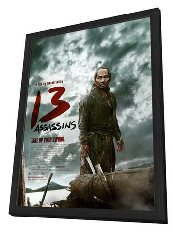 13 Assassins 27 x 40 Movie Poster - Style A - in Deluxe Wood Frame