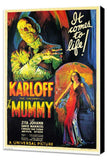 The Mummy 11 x 17 Movie Poster - Style A - Museum Wrapped Canvas