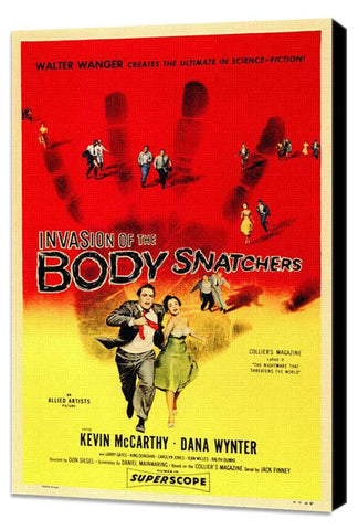 Invasion of The Body Snatchers 11 x 17 Movie Poster - Style A - Museum Wrapped Canvas