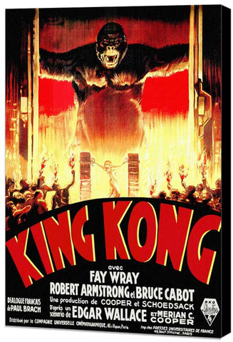 King Kong 11 x 17 Poster - Foreign - Style A - Museum Wrapped Canvas