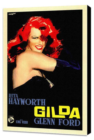 Gilda 11 x 17 Poster - Foreign - Style A - Museum Wrapped Canvas