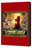 The Phantom of the Opera 11 x 17 Movie Poster - Style C - Museum Wrapped Canvas