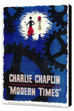 Modern Times 11 x 17 Movie Poster - Style A - Museum Wrapped Canvas