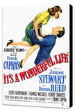 It's a Wonderful Life 11 x 17 Movie Poster - Style A - Museum Wrapped Canvas