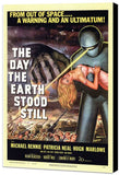 The Day The Earth Stood Still 11 x 17 Movie Poster - Style A - Museum Wrapped Canvas