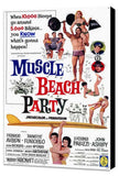 Muscle Beach Party 11 x 17 Movie Poster - Style A - Museum Wrapped Canvas