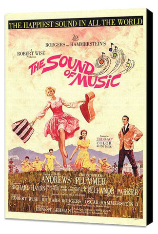 The Sound of Music 11 x 17 Movie Poster - Style A - Museum Wrapped Canvas