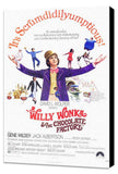 Willy Wonka and the Chocolate Factory 11 x 17 Movie Poster - Style A - Museum Wrapped Canvas