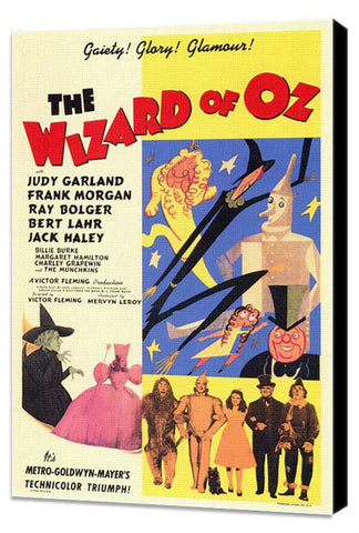 The Wizard of Oz 11 x 17 Movie Poster - Style C - Museum Wrapped Canvas