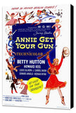 Annie Get Your Gun 11 x 17 Movie Poster - Style A - Museum Wrapped Canvas