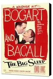 The Big Sleep 11 x 17 Movie Poster - Style A - Museum Wrapped Canvas