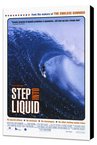 Step Into Liquid 11 x 17 Movie Poster - Style A - Museum Wrapped Canvas