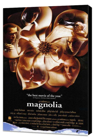 Magnolia 11 x 17 Movie Poster - Style A - Museum Wrapped Canvas