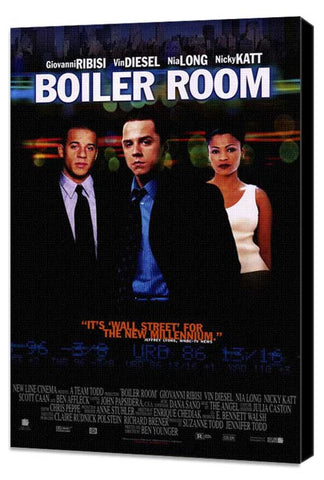 Boiler Room 11 x 17 Movie Poster - Style B - Museum Wrapped Canvas