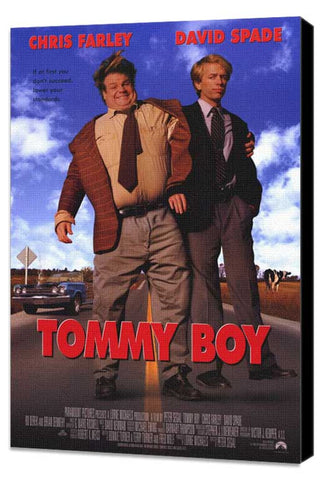 Tommy Boy 11 x 17 Movie Poster - Style A - Museum Wrapped Canvas