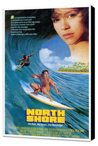 North Shore 11 x 17 Movie Poster - Style A - Museum Wrapped Canvas