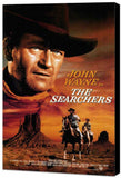The Searchers 11 x 17 Movie Poster - Style B - Museum Wrapped Canvas