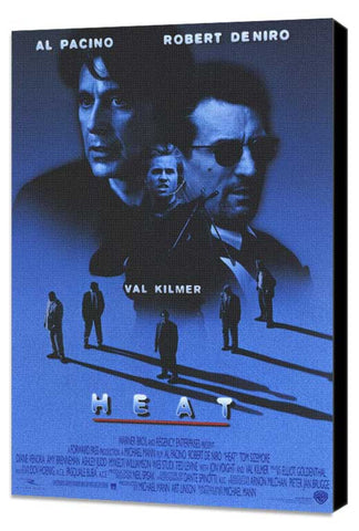 Heat 11 x 17 Movie Poster - Style A - Museum Wrapped Canvas