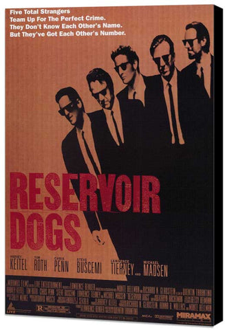 Reservoir Dogs 11 x 17 Movie Poster - Style A - Museum Wrapped Canvas