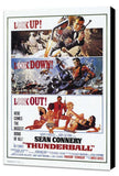 Thunderball 11 x 17 Movie Poster - Style A - Museum Wrapped Canvas