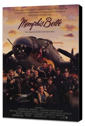 Memphis Belle 11 x 17 Movie Poster - Style A - Museum Wrapped Canvas