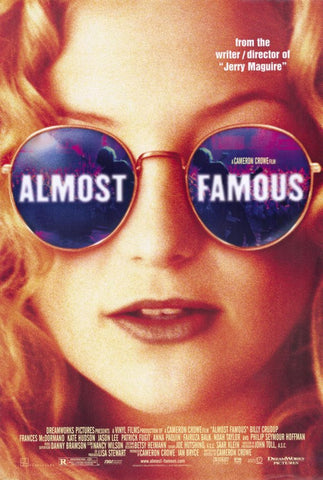 Almost Famous 11 x 17 Movie Poster - Style A - Museum Wrapped Canvas