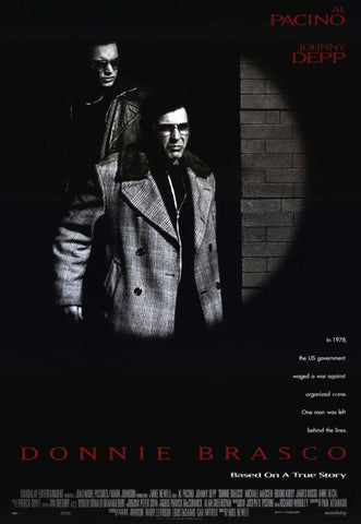 Donnie Brasco   11 x 17 Movie Poster - Style A - Museum Wrapped Canvas