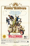 Willy Wonka and the Chocolate Factory 11 x 17 Movie Poster - Style C - Museum Wrapped Canvas