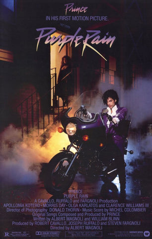 Purple Rain 11 x 17 Movie Poster - Style A - Museum Wrapped Canvas