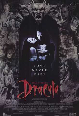 Bram Stoker's Dracula 11 x 17 Movie Poster - Style A - Museum Wrapped Canvas