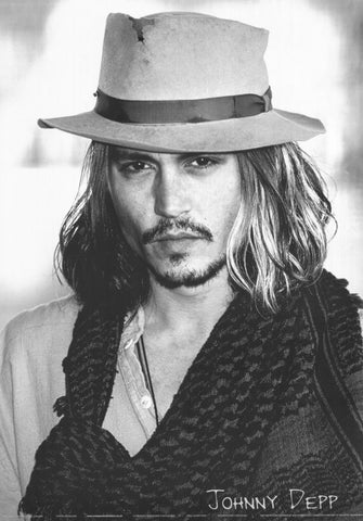Johnny Depp 11 x 17 Movie Poster - Style B - Museum Wrapped Canvas