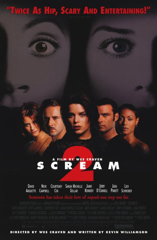 Scream 2 11 x 17 Movie Poster - Style A - Museum Wrapped Canvas