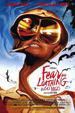 Fear and Loathing in Las Vegas 11 x 17 Movie Poster - Style A - Museum Wrapped Canvas