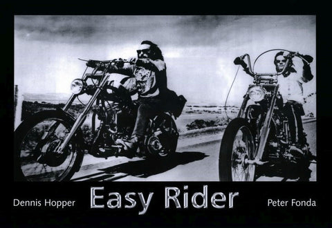 Easy Rider 11 x 17 Movie Poster - Style B - Museum Wrapped Canvas