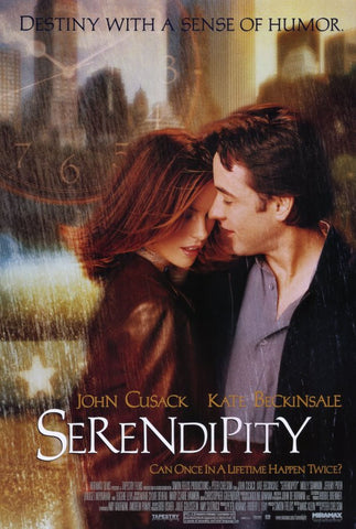 Serendipity 11 x 17 Movie Poster - Style A - Museum Wrapped Canvas