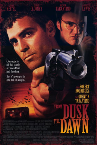 From Dusk Till Dawn 11 x 17 Movie Poster - Style B - Museum Wrapped Canvas