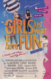 Girls Just Want to Have Fun 11 x 17 Movie Poster - Style A - Museum Wrapped Canvas