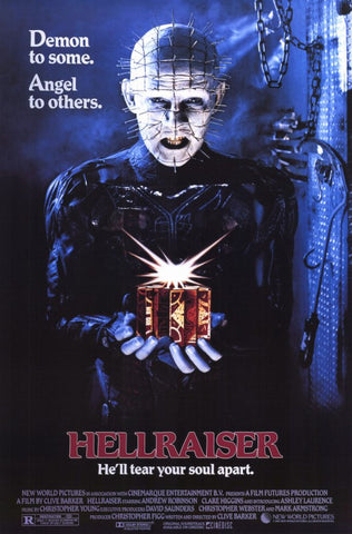 Hellraiser 11 x 17 Movie Poster - Style A - Museum Wrapped Canvas