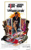 Live and Let Die 11 x 17 Movie Poster - Style A - Museum Wrapped Canvas