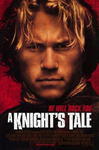 A Knights Tale 11 x 17 Movie Poster - Style A - Museum Wrapped Canvas