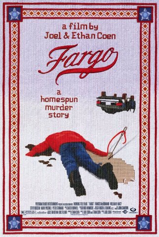 Fargo 11 x 17 Movie Poster - Style A - Museum Wrapped Canvas