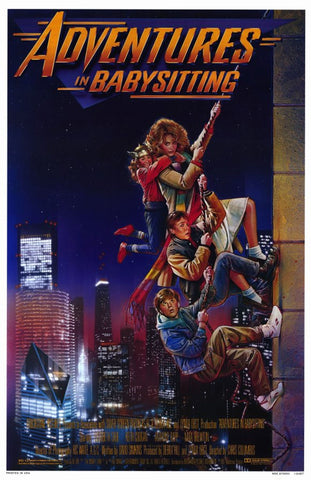 Adventures in Babysitting 11 x 17 Movie Poster - Style A - Museum Wrapped Canvas