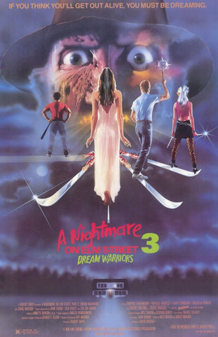 A Nightmare on Elm Street 3: Dream Warriors 11 x 17 Movie Poster - Style A - Museum Wrapped Canvas