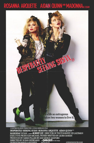 Desperately Seeking Susan 11 x 17 Movie Poster - Style A - Museum Wrapped Canvas